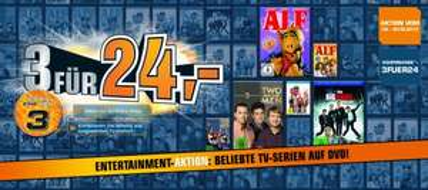 3 DVD`s für nur 24€ bei Saturn