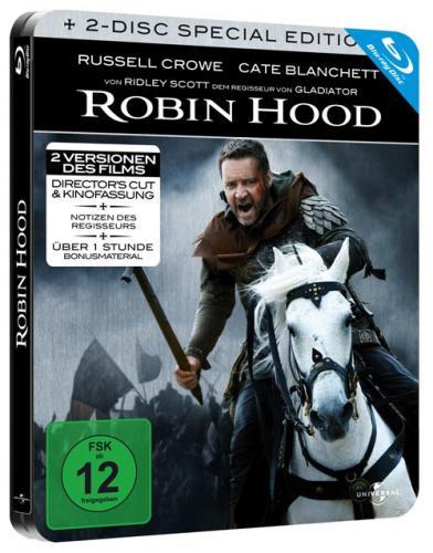 Wieder verfügbar Robin Hood - 2-Disc Steelbook Edition (Blu-ray) bei ebay