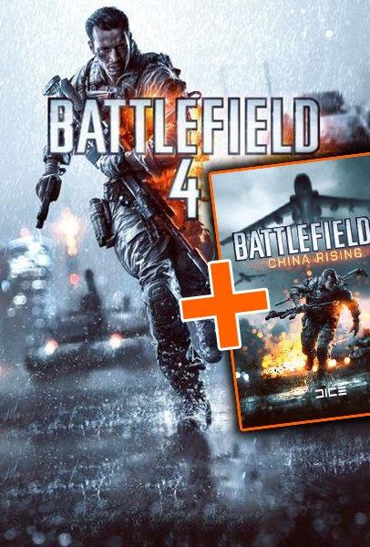 [ORIGIN] Battlefield 4 + China Rising DLC CD-KEY + 5%  RABATT CODE für BF4