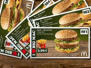 Big Mac Deal Mc Donalds - 2,99€