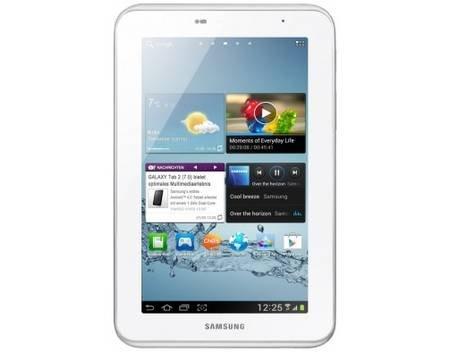 Samsung Galaxy Tab 2 (7.0) 8GB WiFi in 2 Farben für je 124,99€