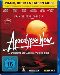 Blu-ray: Apocalypse Now (Kinofassung & Redux) - Digital Remastered @Amazon: 7,99€
