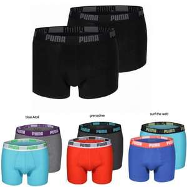 Puma Men Boxer Short 4er Pack @mybodywear.de