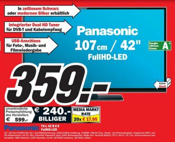 [MM Dortmund] Panasonic TX-L42B6E/S