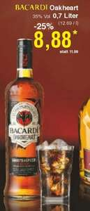 [NETTO] (ohne Hund): Bacardi Oakheart 0,7l  ab Montag 21.10