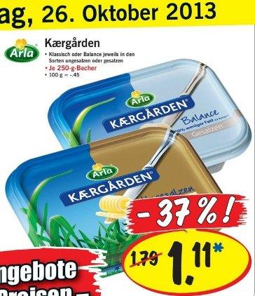 (Lokal?) Arla Kaergarden bei Lidl am 26.10. für 1.11€