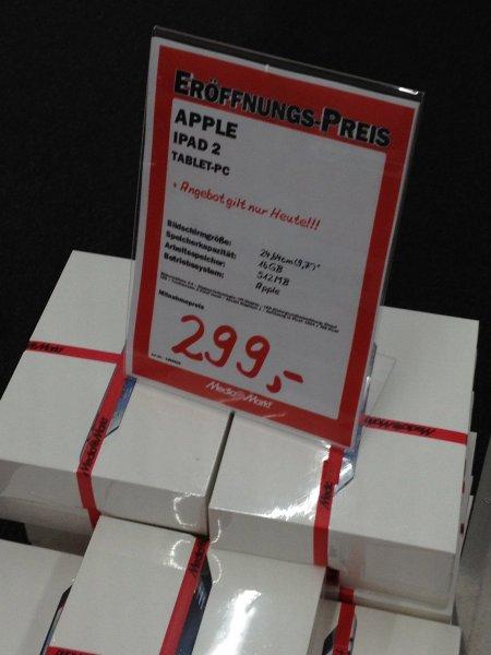 [Media Mark Düsseldorf Metrostrasse] iPad 2 WIFI 16 GB 299€
