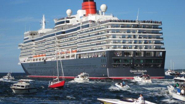 29-Nächte Teil-Weltreise (Kreuzfahrt) mit der Queen Elizabeth von Cunard (im Januar 2014) ab 2222 Euro p.P. inkl. Flügen statt ab 3349 Euro p.P. ohne Flüge