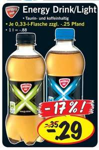 [LIDL] Mixxed up Energy Drink für 0,29€