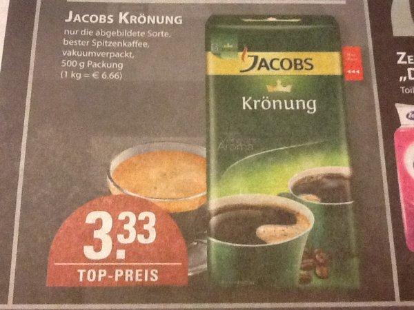[Lokal Bochum + Essen] Edeka Burkowski Jacobs Krönung 500g für 3,33€