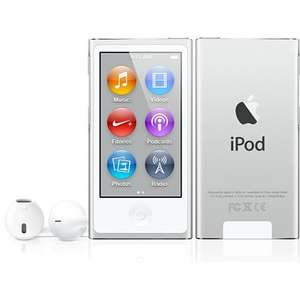 Refurbished iPod nano 16GB Silber / Violett / Pink 7 Gen.