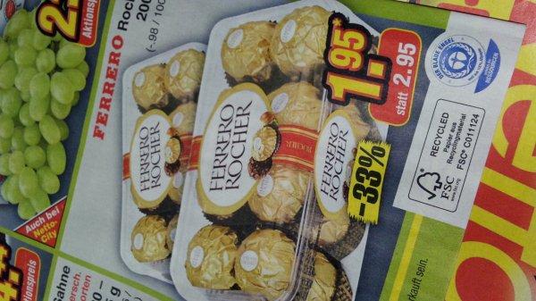 Ferrero Rocher 16er (200 Gramm) @ Netto (ehem. Plus) ? 1,95 €