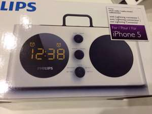 [Kaufland HI] Philips Radiowecker AJ6200D für Apple iPod/iPhone mit Lightning Dock