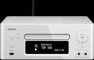 Denon RCD N7 N-5WTE2 Netzwerk-CD-Receiver mit iPhone-/iPod-Cradle