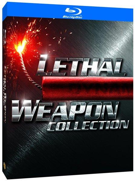 [Zavvi] Lethal Weapon 1-4 (Blu-ray) für 9,89 EUR inkl. VSK