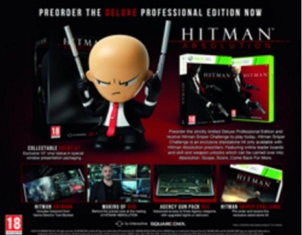 [Zavvi] Hitman Absolution Deluxe Professional Edition mit Figur für Xbox 360