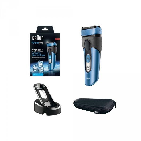 Braun CoolTec CT4s kabelloser Wet & Dry Rasierer (mit aktiver Kühltechnologie) @amazon