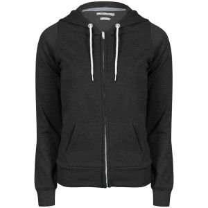 (The Hut) Brave Soul Damen-Hoody - Charcoal Marl