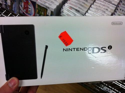 offline @ Woolworth Wilmersdorfer Str. Berlin, Nintendo DSi