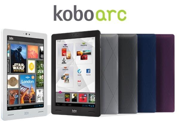 Kobo Arc 16GB 17,78cm (7) schwarz DualCore Android 4.x