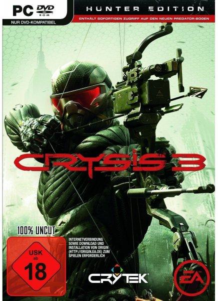 Crysis 3 Hunter Edition PC Download Key für 9,90 Euro wieder da, auch Tomb Raider für 8,90 Euro PC als Key