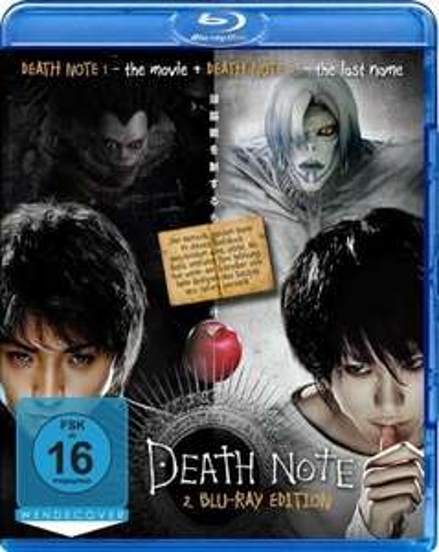 Death Note / Death Note: The Last Name (2 Blu-ray Edition) [Blu-ray]  für 13,97 € @ amazon.de