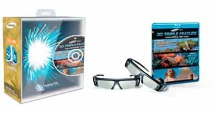 Samsung 3D Brille SSG-P2100X/ZG Starter-Kit für 89,-€ zzgl. Versand