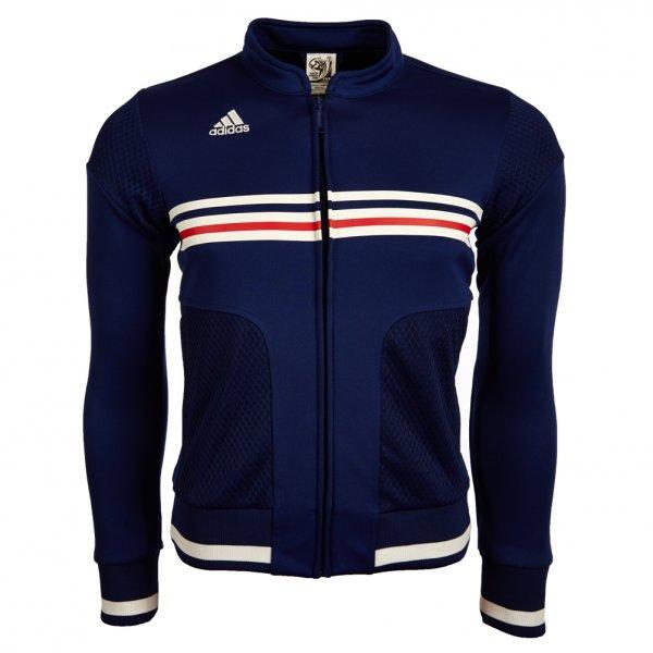 Adidas Track Top Trainingsjacke für 9,99 EUR + 3,95 EUR Versand [verschiedene Größen für Damen]