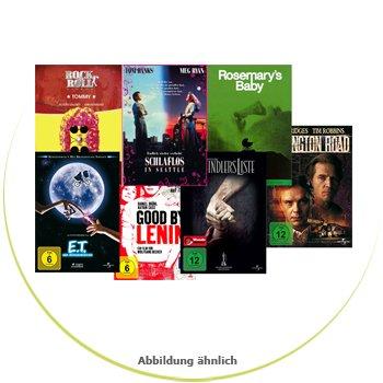 50 DVD's für 100€ - u.a. Good Bye Lenin, Schlafl. in Seattle, ET, Schindlers Liste, uvm.