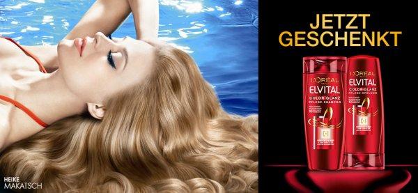Elvital Shampoo und Spülung gratis testen