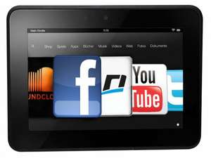 Kindle Fire HD 32 GB - Dolby Audio, Dual-Band Wi-Fi
