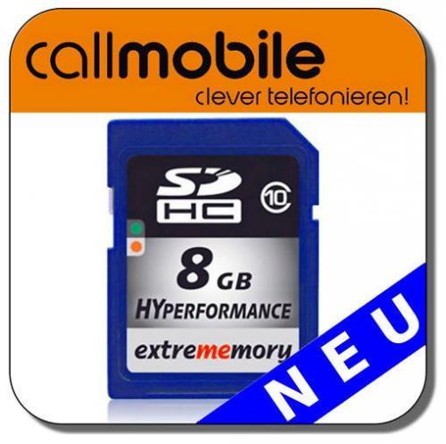8GB MicroSDHC Class 10 Karte für 2 € @Ebay (Callmobile)