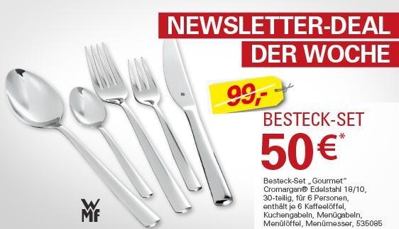 """WMF Besteck """"Gourmet"""" - 30 Teile - Höffner[CHEMNITZ] evtl. Deutschlandweit?"""