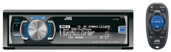 Autoradio JVC KD-R 50 E inkl. Bluetooth-Adapter KS BTA100 (88€ bei Abholung)