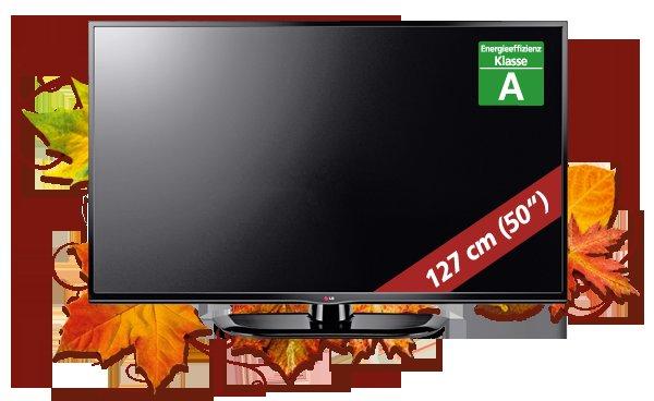 LG-Plasmafernseher 50 PN 4503 (127 cm) für 379 €uro