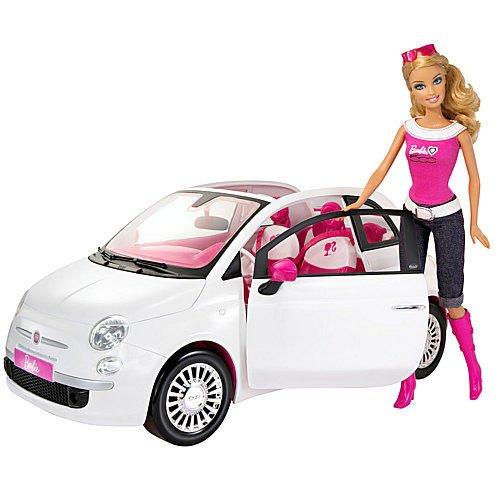 Barbie Fiat und Puppe bei Karstadt online