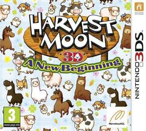 Harvest Moon: A New Beginning für Nintendo 3DS