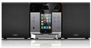"Philips™ - Docking-Entertainment-System ""DCM 129"" (CD,RDS-Tuner,Apple Dock Connector) für €39,99 [@MeinPaket.de]"