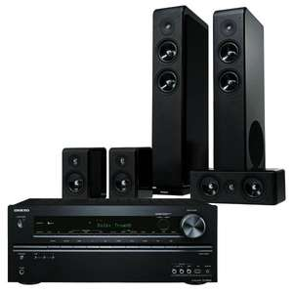 Onkyo TX-NR626 & Audio Pro Avanto 5.0 Lautsprecher @cyberport