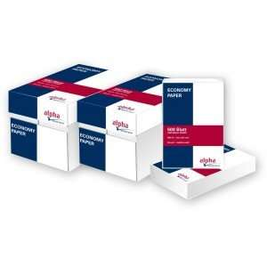 Kopierpapier A4 80g weiß economy - 5000 Blatt für 22,49€ (nur für Gewerbe)