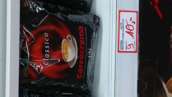 Media Markt Düsseldorf-Arcaden 1 kg Lavazza Kaffeebohnen