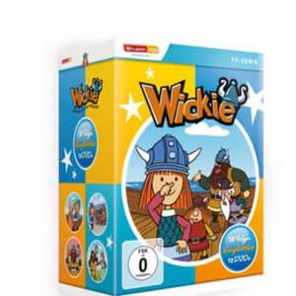 Wickie DVD Komplettbox 12 DVDs
