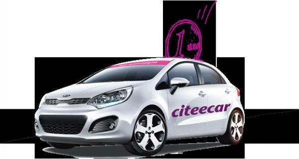 Carsharing Freistunden! CiteeCar.com
