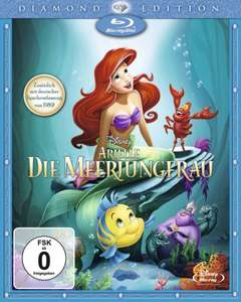 Arielle Blu-ray Diamond Edition für € 14,39 @ Müller
