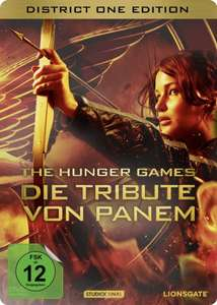 [Amazon] Die Tribute von Panem DVD Steelbook (2 Discs) inkl. Kinogutschein für Teil 2: Catching Fire