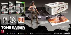XBOX 360: Tomb Raider Collectors Edition für 38,98€