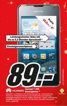 MediaMarkt Neueröffnung in Karlsfeld bei München (z.B. Huawei Y300 -> 89 €)