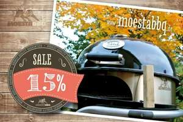 15% Rabatt auf Moesta Pizza-/SmokingRing für Kugelgrills!