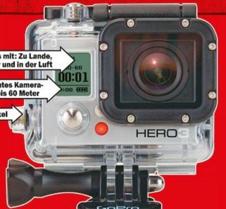 [Lokal Riesa] GoPro Hero 3 Silver Edition @MM Eröffnung Do 24.10. für 199€