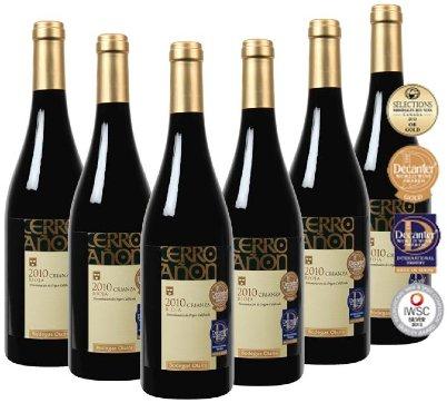 6x Rioja Bodegas Olarra Cerro Añon Rotwein 89 Parker Punkte METRO-Onlineshop!